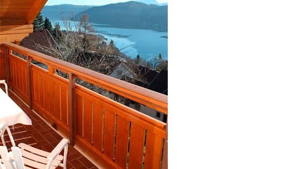 Aussicht vom Balkon der dritten Wohnung