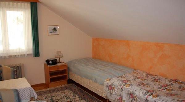 Schlafzimmer der dritten Wohnung