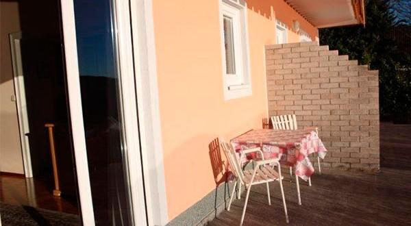 Terrasse der zweiten Wohnung