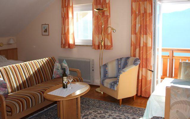 Schlafzimmer der Wohnung Nr. 3